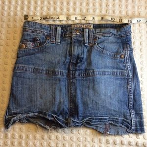 US POLO ASSN. girls jeans short Skorts stretchy